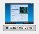 watch snosh video to flash converter demo